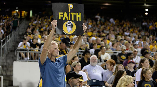 Faith Night with the Pirates