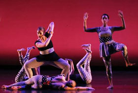 La Roche University dance students perform at the Spring Gala