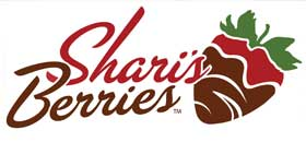 Shari's Berries company logo