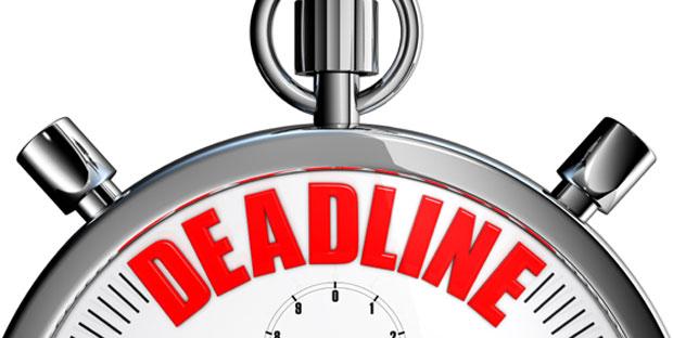 college application deadline