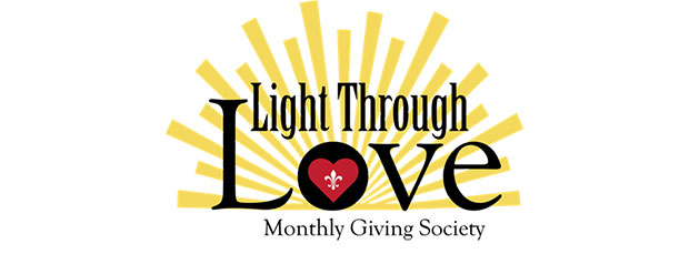 Light Through Love Monthly Giving Society Logo